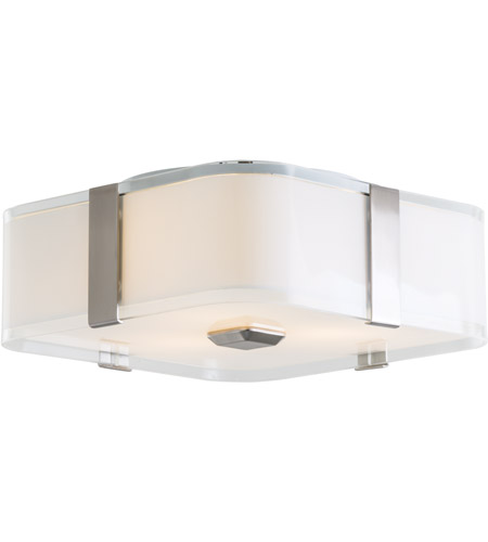 DVI DVP18032SN-SSOP KII 3 Light 12 inch Satin Nickel Flush Mount Ceiling Light photo thumbnail