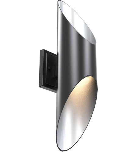 DVI DVP20372GR/SS Beacon Hill LED 20 inch Graphite and Stainless Steel Outdoor Sconce photo thumbnail