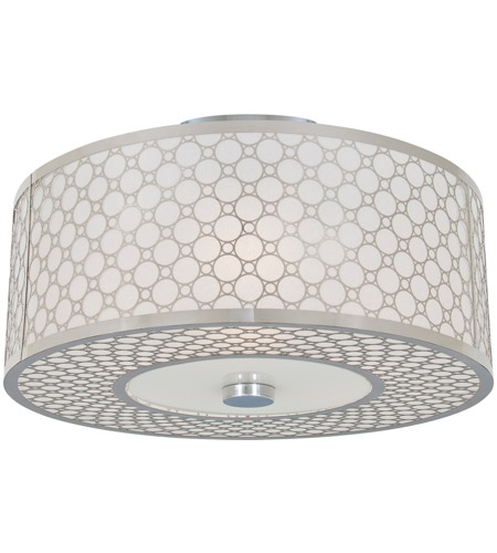 DVI DVP5813CH-SD Trilogy 2 Light 12 inch Chrome Semi-Flush Mount Ceiling Light photo thumbnail