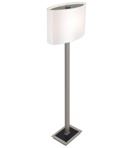 Esplanade 21 inch 150 watt buffed nickel floor lamp for 150 watt floor lamp