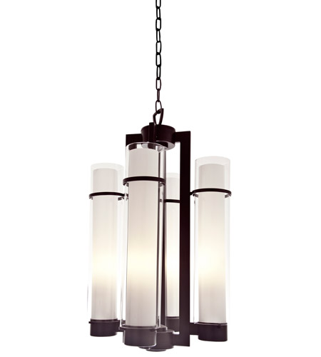DVI Lighting Es 4 Light Foyer Pendant in Oil Rubbed