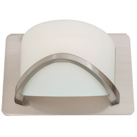 Solstice 1 Light 8 inch Satin Nickel Wall Sconce Wall Light