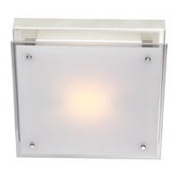 DVI DVP10331CH-SSW Helios 1 Light 10 inch Chrome Flush Mount Ceiling Light