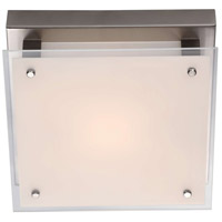 DVI DVP10338BN-SSW Helios AC LED LED 10 inch Buffed Nickel Flush Mount Ceiling Light