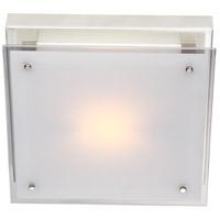 DVI DVP10341CH-SSW Helios 1 Light 12 inch Chrome Flush Mount Ceiling Light