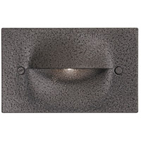 DVI DVP10707HB Terra Nova 1 watt Hammered Black Outdoor Steplight