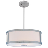 Uptown 3 Light 19 inch Chrome Pendant Ceiling Light