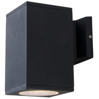 DVI DVP115016BK Summerside 1 Light 8 inch Matte Black Outdoor Sconce