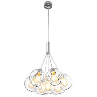 Oberon 7 Light 20 inch Chrome Pendant Ceiling Light