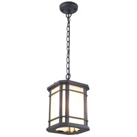 DVI DVP142015BK-SSD Cardiff 1 Light 12 inch Black Outdoor Wall Sconce