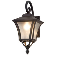 Swansea 1 Light 19 inch Black Outdoor Wall Sconce