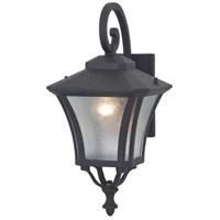 Swansea 1 Light 20 inch Black Outdoor Wall Sconce