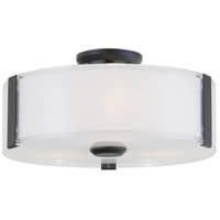 DVI DVP14532GR-SSOP Zurich 3 Light 12 inch Graphite Flush Mount Ceiling Light