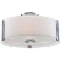 DVI DVP14592CH-SSOP Zurich LED Chrome Flush Mount Ceiling Light