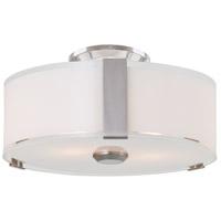 DVI DVP14592SN-SSOP Zurich LED Satin Nickel Flush Mount Ceiling Light