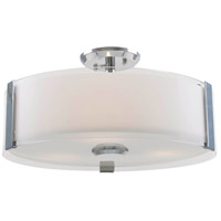 DVI DVP14594CH-SSOP Zurich LED Chrome Semi Flush Mount Ceiling Light