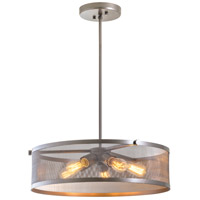 Gastown 5 Light 20 inch Champagne Pendant Ceiling Light