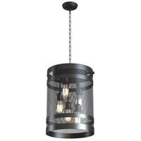 Gastown 5 Light 14 inch Graphite Foyer Pendant Ceiling Light