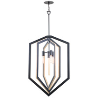 Urban Cottage 4 Light 24 inch Graphite Foyer Pendant Ceiling Light