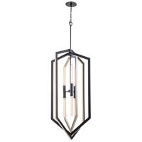 Urban Cottage 6 Light 24 inch Graphite Foyer Pendant Ceiling Light