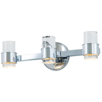 Osprey LED 19 inch Graphite and Chrome Vanity Light Wall Light