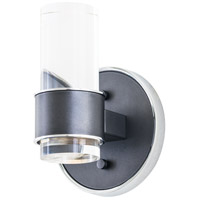 DVI DVP16299GR/CH-CL Osprey LED 5 inch Graphite and Chrome Wall Sconce Wall Light