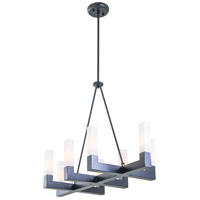 DVI Lighting Winter Garden 8 Light Pendant in Graphite DVP17014GR-OP