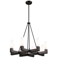 DVI Lighting Winter Garden 8 Light Pendant in Graphite DVP17026GR-OP