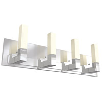 DVI DVP17044CH-OP Winter Garden 4 Light 32 inch Chrome Vanity Light Wall Light