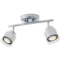 Harrier 2 Light Chrome Track Light Ceiling Light