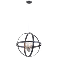 Compass 6 Light 20 inch Chrome Pendant Ceiling Light