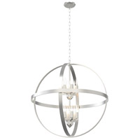 Compass 12 Light 28 inch Satin Nickel Pendant Ceiling Light