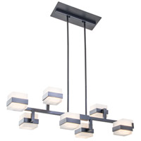 DVI Lighting Firefly LED Pendant in Graphite DVP18514GR-OP