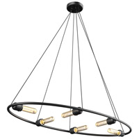 Brandt 6 Light Graphite Pendant Ceiling Light