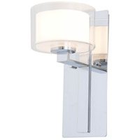 DVI DVP2199CH-OP Princeton 1 Light 6 inch Chrome Wall Sconce Wall Light