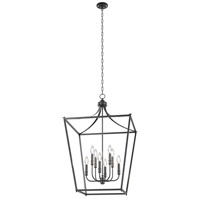 Vidalia 9 Light Graphite Pendant Ceiling Light