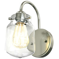 DVI DVP22701CH-CL Lexington 1 Light 5 inch Chrome Wall Sconce Wall Light