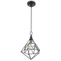 DVI DVP24513GR Ironworks 3 Light 12 inch Graphite Pendant Ceiling Light