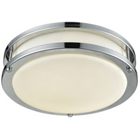 DVI DVP25032CH Flanders LED 13 inch Chrome Flush Mount Ceiling Light