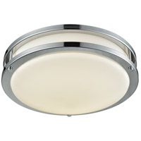 DVI DVP25042CH Flanders LED 15 inch Chrome Flush Mount Ceiling Light