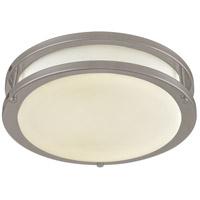 DVI DVP25042SN Flanders LED 15 inch Satin Nickel Flush Mount Ceiling Light