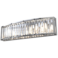 DVI DVP25743CH-CRY Vimy Ridge 4 Light 24 inch Chrome Vanity Wall Light