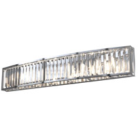 DVI DVP25744CH-CRY Vimy Ridge 6 Light 36 inch Chrome Vanity Wall Light