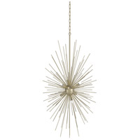 DVI DVP26014SG Starburst LED 24 inch Soft Gold Foyer Pendant Ceiling Light