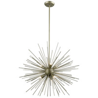 DVI DVP26020SG Starburst LED 26 inch Soft Gold Pendant Ceiling Light