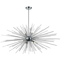 DVI DVP26092CH Starburst LED 48 inch Chrome Linear Pendant Ceiling Light