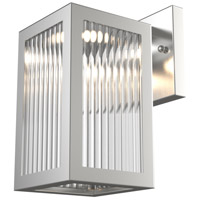 Bishop LED 10 inch Stainless Steel Outdoor Wall Mount