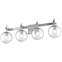 DVI DVP27044CH-CL Courcelette 4 Light 26 inch Chrome Vanity Wall Light
