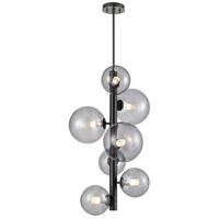 DVI DVP27049GR-SM Courcelette 7 Light Graphite Foyer Ceiling Light