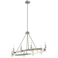Cambrai 8 Light 36 inch Satin Nickel Linear Chandelier Ceiling Light